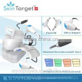 Desktop Low frequency Micro current & rf PDT skin beauty equipment