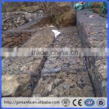 Control and guide of flood galvanized and pvc Wire Mesh Gabion Baskets (Guangzhou Factory)