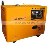INquiry about Single cylinder Open frame & Silent Diesel Generator Set SDE8000T