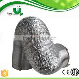 Air conditioning connecting pipe machine flexible air duct/air conditioning duct for hydroponics /hot air duct