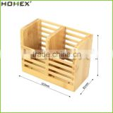 Bamboo Chopstick Holder Rest/Utensil Caddy Organizer/Homex_FSC/BSCI Factory