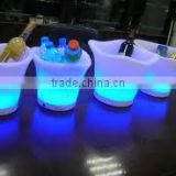 portable ice cooler for bar /outdoor bar RGB ice bucket /mini wine ice bucket/ outdoor bar RGB ice bucket YM-LIB242024
