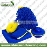 2014Hot selling 5 Piece Wash Kit/car cleaning kit Car Wash Products Kit/Microfiber Towel Car Cleaning Wash