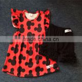 Wholesale children's boutique clothing kids clothes wholesale china pearl tunic clothing sets
