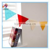 Create your own bunting choose the flags and hanger red, pink, blue, green,white