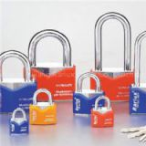 Rhombic Chrome Plated Iron Padlock
