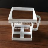 Plastic handle for milk carton boxes