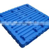 Durable plastic pallet/ anti-static blow molding plastic tray for cargo stock carry