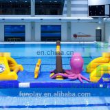 HI giant inflatable water park, cheap adult inflatable octopus floating water park for sale