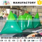 Inflatable Dorito And Temples Paintball Custom Inflatable Bunker Paintball Dorito