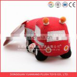 Factory supply customized stuffed soft plush car toy for kids