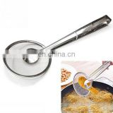 wire mesh skimmer strainer, 12cm mental oil strainer, food washing strainer
