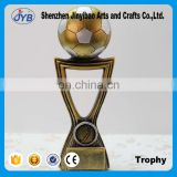 Golden football trophy Resin decoration Wholesale of Arts and crafts Creative trophy