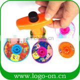 EN71 hot sale spinning top peg-top spinning toy