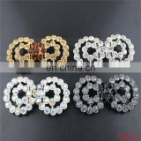 Wholesale Ex-factory price rhinestone snap white button