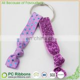 Fashion Glitter Elastic Hair Band Knotted Hair Tie