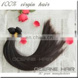Top grade best selling large stock fast delivery most fashionable silky straight indian remi hair