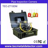 DVR 23mm camera Sewer pipe inspection camera TEC-Z710DM