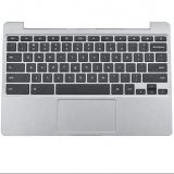 Touchpad Palmrest BA98-00560A Grey US With Keyboards for Samsung Chromebook XE500C12