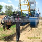 Best selling river sand dredging machine/sand dredging boats/cutter suction dredger for sale