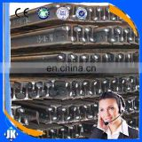 Tangshan China manufacture s30 light railroad steel rail