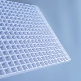 plastic eggcrate panel grille,cube cell china factory