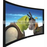 3D fixed frame screen/ Home theatre frame screen and cinema