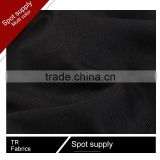 430Gsm (30+25)*32+40D cheap twill black business suit fabric 2016                                                                                                         Supplier's Choice