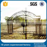 Deft Design Pure Color Main Iron Gates Designs For House