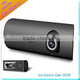 Popular Dual lens GPS X3000 dash cam with Gsensor