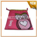 Wholesale handmade felt drawstring bag