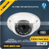 ICR 13EA IR LED Security System IR AHD Dome CCTV Camera Waterproof/Waetherproof with 3.6mm fixed lens Metal Housing