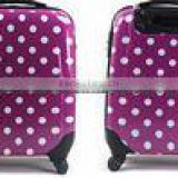 Beautiful travel trolley abs and pc luggage sets
