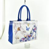 chinese style digital printing canvas shoulder bag for Canton fair                                                                         Quality Choice