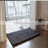2016 hot sale modern kitchen designs chenille microfiber rug