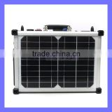 40W Solar Charger High Power Single Silicon Solar Panel Box Power Bank Set