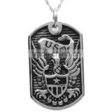 Custom made US Army pendant stainless steel jewelry