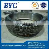 KH-166E Slewing Bearings (12.75x20.5x2.5in) Ball bearing BYC Band bearing sizes Tower Crane bearings