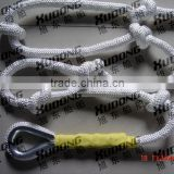 Hot selling high quality nylon mountain polyester climbing wall ropes