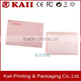 wholesale promotion paper cut pink handmade decorative greeting card printing                                                                                                         Supplier's Choice