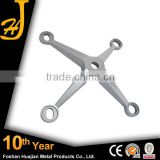 304/316 stainless steel spider with 4-arms for glass curtain wall