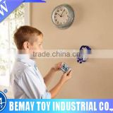 Mini Radio Control Mini Wall Climber Climbing RC Blue Car Kid Toy Xmas Gift by Electronic