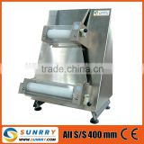 Pizza dough roller machine Pizza: Max. 400 mm electric pizza dough roller machine (SY-PS400 SUNRRY)
