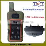 Rechargeable and Waterproof Remote Electric Shock Hunting Training Beeper Collar hunting dog