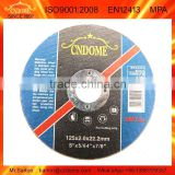 125x2x22.2mm Super Thin Abrasive Diamond Resin Cutting Disc For Marble/norton Quality