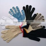 Adult working dotted knitted glove/knitting glove price