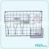 stainless steel gathering basket stand for fruits plastic coated wire baskets manufacturers