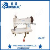 High Quality BM 10-1 Handle type embrodiary industrial sewing machine complete set with stand table and motor
