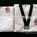 White taekwondo uniform V-neck Taekwondo uniform