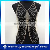 Wholesale New Arrival Fashion Jewelry Sexy Body Chain Long Body Chain Jewelry For Women B0001                                                                         Quality Choice